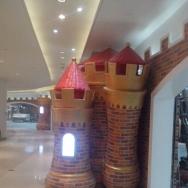 深圳星河盛世儿童馆城堡雕塑