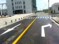 道路划线案例-上海交通设施 道路划线 就选欣路实业 减速带